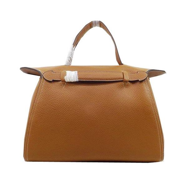 Hermes Oxer Top Handle Messenger Bag H8096 Wheat - $289.00