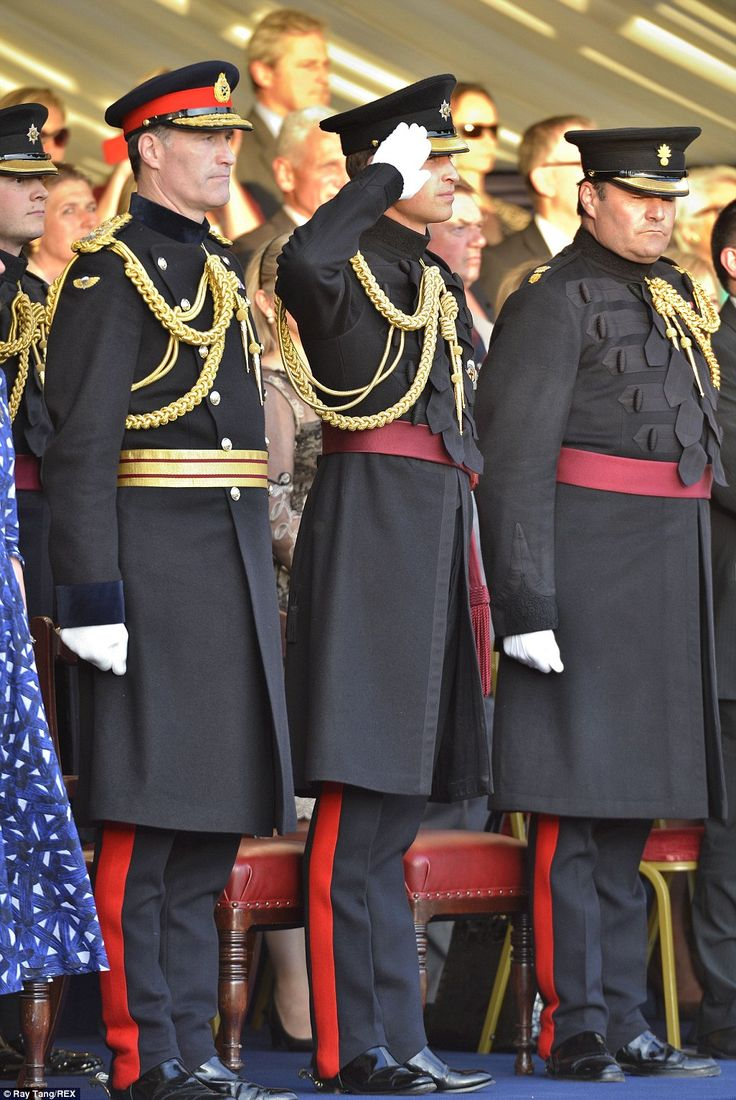 The Duke of Cambridge at the special performance of Beating Retreat which took place at Horse Guards in Whitehall, London, UK - 12th June 2014