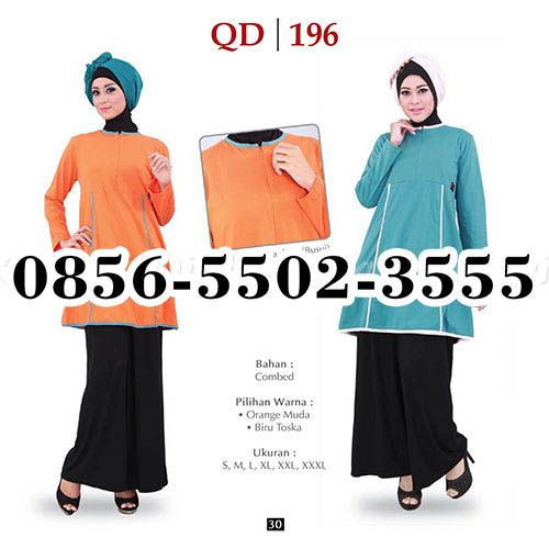 Gamis Qirani Model 113, HP.0856-5502-3555,
