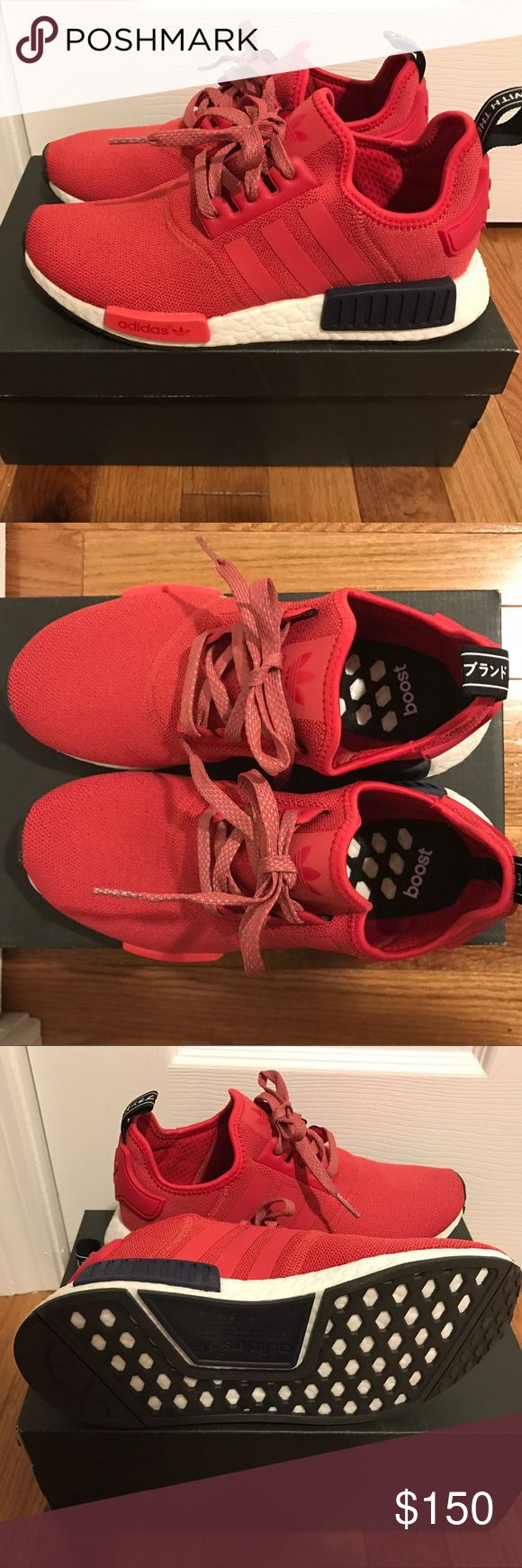adidas nmd womens red