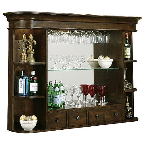Howard Millar Niagara Bar Hutch at Wine Enthusiast - $1,249.00