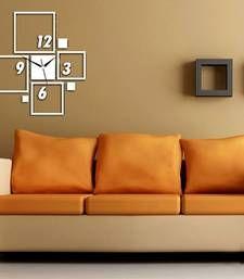 Buy silvear square wall clock wall-clock online
