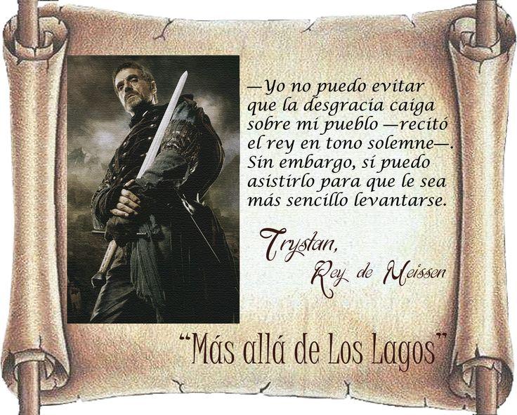 """Rey Trystan de Meissen, """"Más allá de Los Lagos"""""""