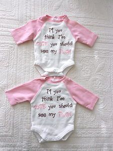 25  best ideas about Twin Baby Clothes on Pinterest | Twin baby ...