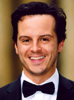Andrew Scott (aka Sherlock's nemesis Moriarty) is taking to the stage to present the first award of the night. ( http://www.facebook.com/bafta ) источник Steven Moffat, Eva Birthistle, Andrew Scott, Sue Vertue. David Roger winner of the Production Design Award for Great Expectations with…