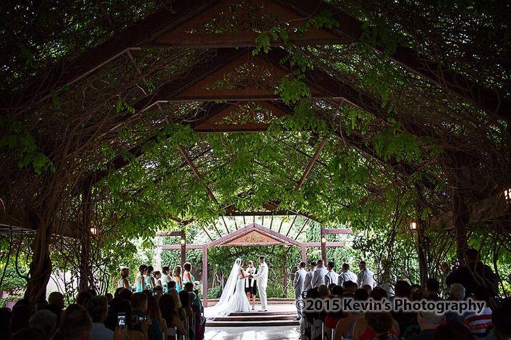 Botanical garden albuquerque wedding