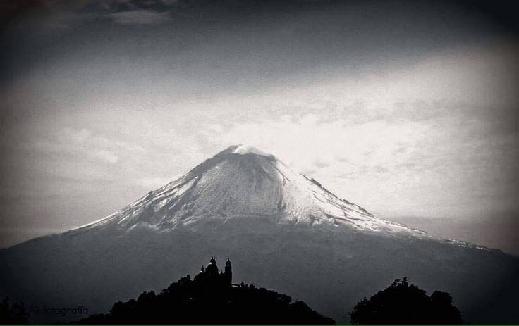 Leyenda del Popocatépetl