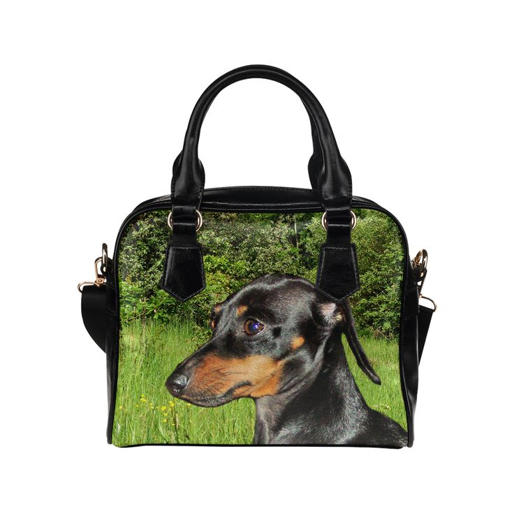 Dachshund Doxie Shoulder Handbag (Model 1634)