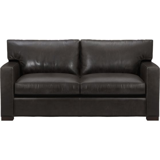 Cheap Sofas Axis II Leather Loveseat Full Sleeper SofaSleeper