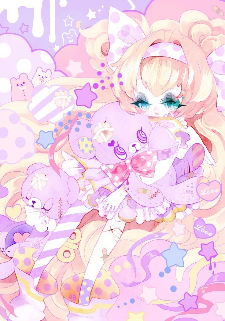 anime kawaii pastel: Пин от пользователя Kvass Karas на доске Pastel