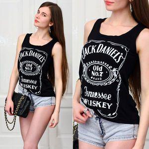 Regata Feminina Jack Daniels Preto