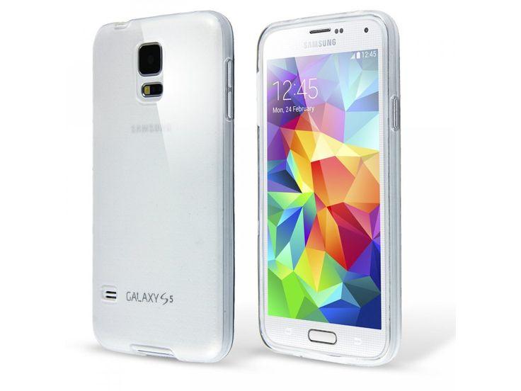 Silikónový kryt (obal) pre samsung Galaxy S5 mini - clear (priesvitný)