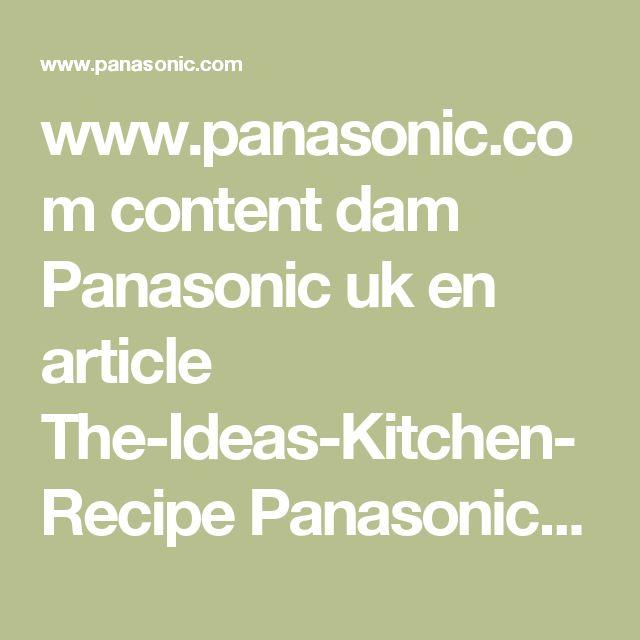 www.panasonic.com content dam Panasonic uk en article The-Ideas-Kitchen-Recipe Panasonic-Breadmaker-Recipe-Tear-and-Share-Stollen.pdf