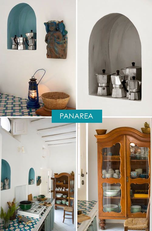 a summer home on panarea