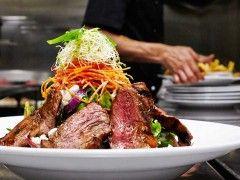 Hurricane's Grilled Beef Salad