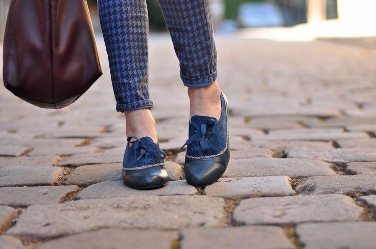 Zapato clásico con un toque original ideal para bailar swing, lindy hop, jazz/swing, balboa...