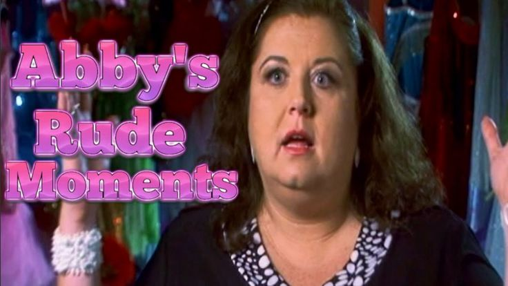 Dance Moms: Abby Lee Miller's RUDE Moments PART 1