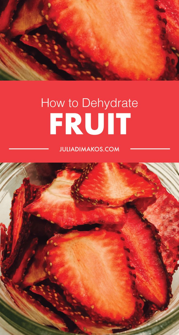 How to Dehydrate Fruit #GettingFruity