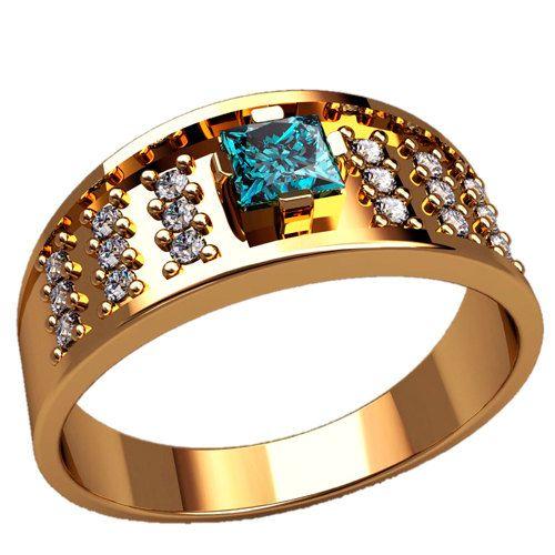 Topaz Man Signet Ring, Men Gold Signet Ring, Gold Signet Ring for Him, Topaz Signet Ring, Modern Signet Ring, Man Topaz Gold Ring, Signet Ring Yellow