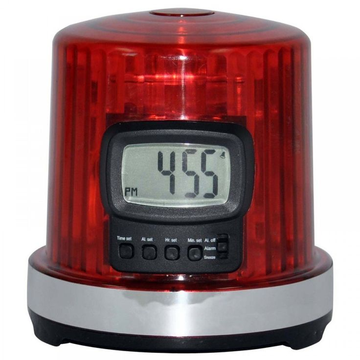 Fan Fever 'The Goal Light' Alarm Clock