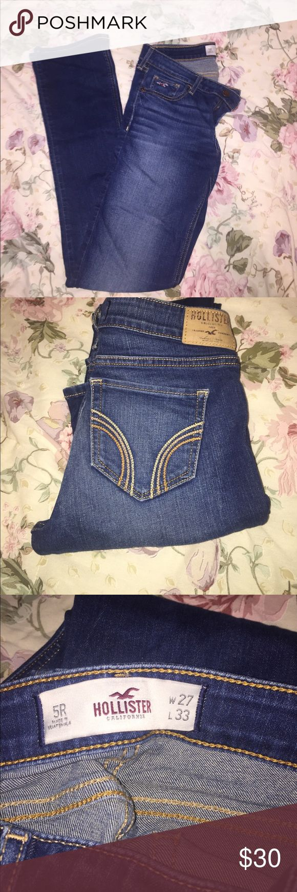 Gently Used Hollister Jeans Like New Hollister Jeans. Slim Fit 5R Hollister Jeans Skinny