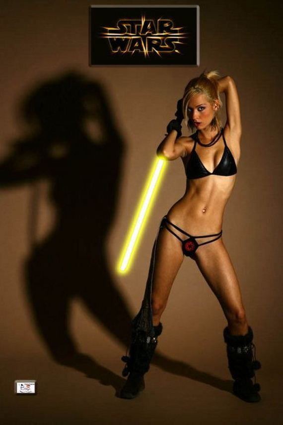 Star war chick nude