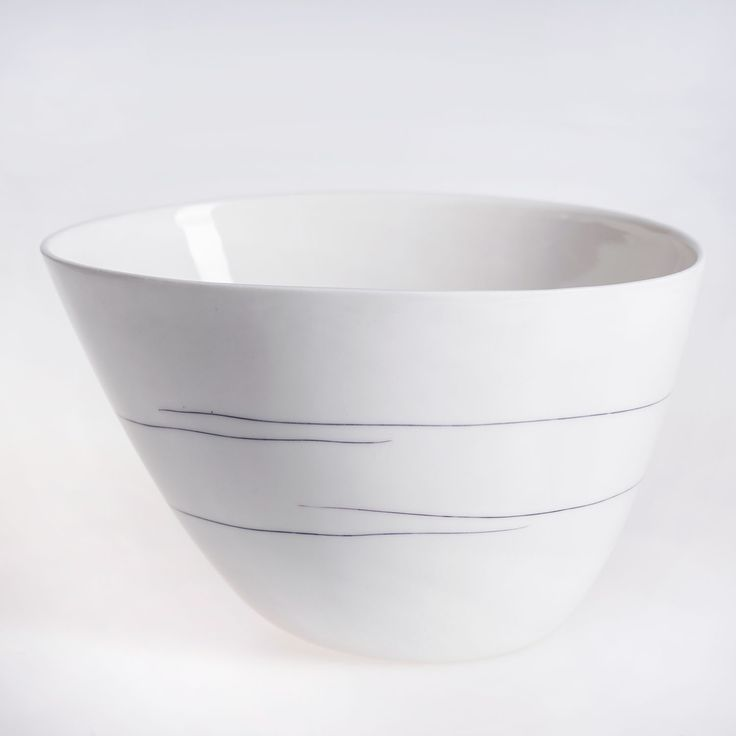 line bowl made by august