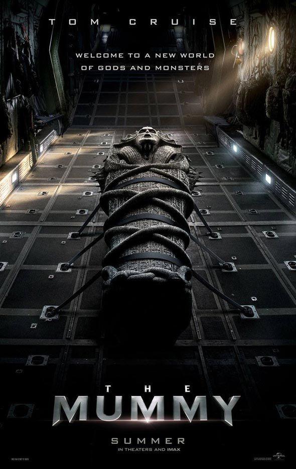 Dentro da série de reboots dos seus clássicos monstros, a Universal Pictures divulgou o primeiro cartaz e o teaser do trailer de A Múmia, longa de ação e terror protagonizado por Tom Cruise e Sofia…