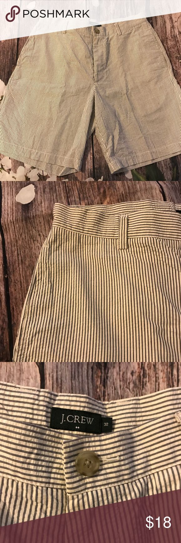 J.crew stripped shorts Size 32 striped men's shorts good condition J. Crew Shorts