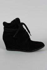 Dakota-02 Lace Up Wedge Sneaker