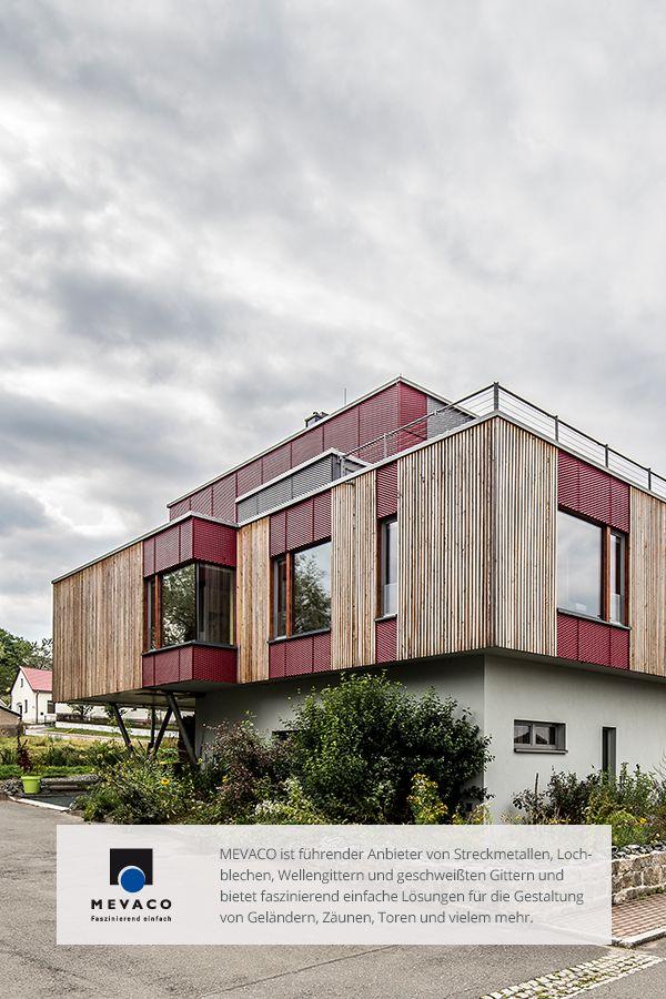 Simple Alle Schutzvorteile unter einem Dach Eine Fassade aus Streckmetall MEVACO FaszinationNo
