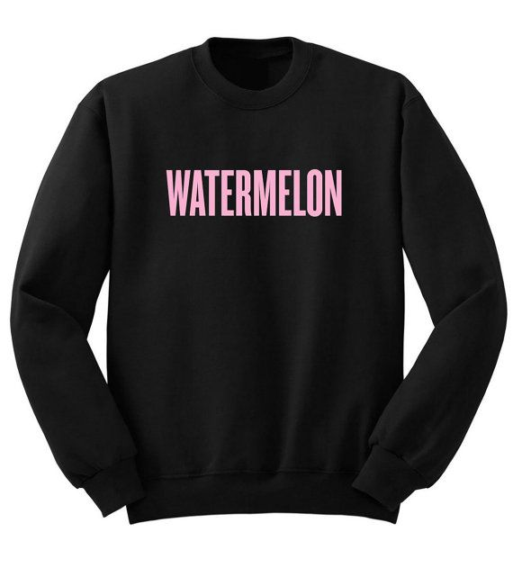 Beyonce WATERMELON Sweatshirt 50/50 Unisex Surfboard Drunk In Love Yonce Sweater Shirt New Best Price Ships In 1 Day on Etsy, $19.00
