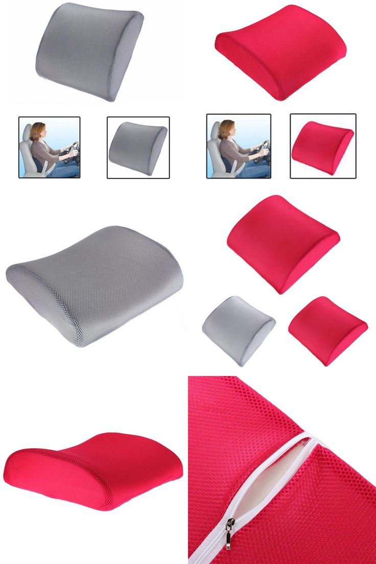 [Visit to Buy] Memory Foam Lumbar Back Support Cushion Pillow Home Car Auto Office Seat Chair #Advertisement