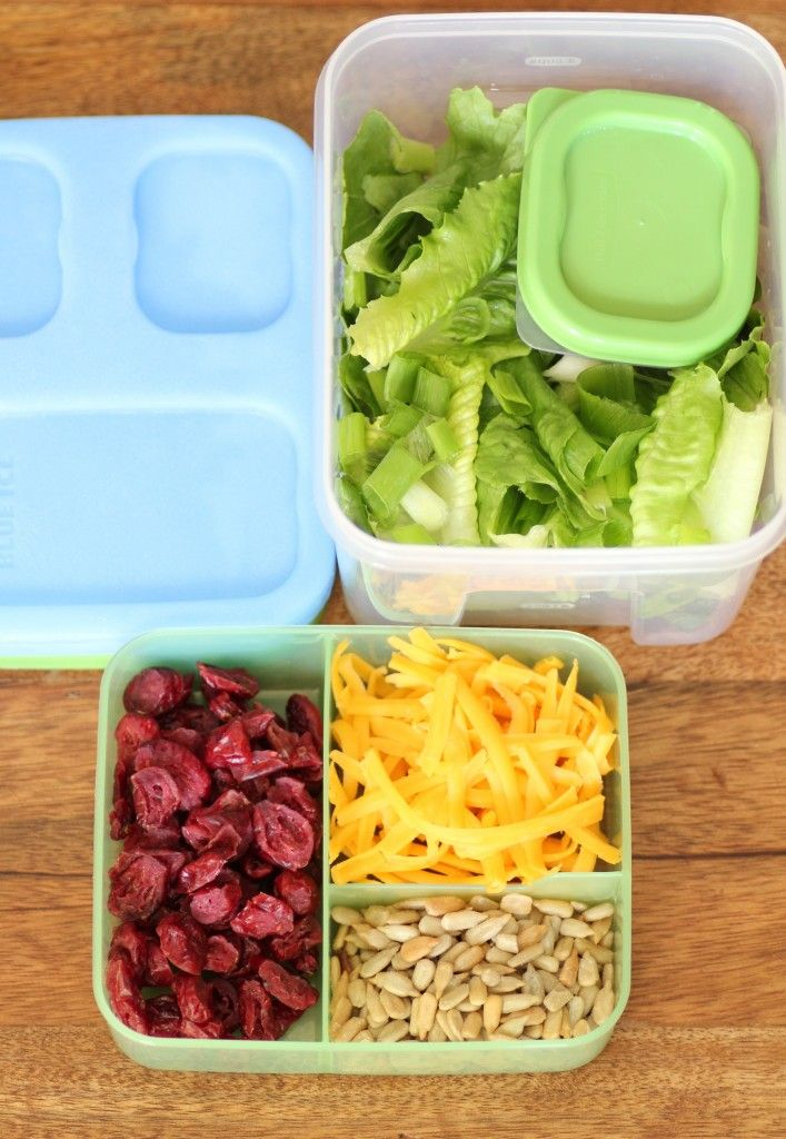 Love these 20 quick salad ideas for kids (and adults too)! I also find the  the Rubbermaid Lunch Blox Salad Kit to be an excellent product.