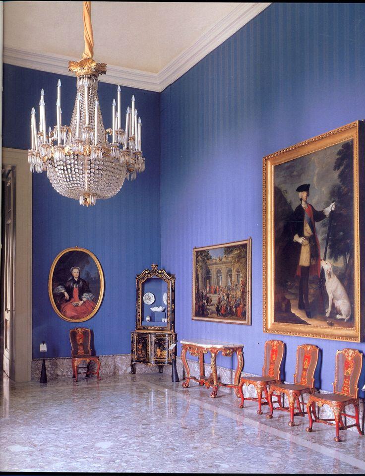 National Museum Capodimonte interior , Napoli , Italy