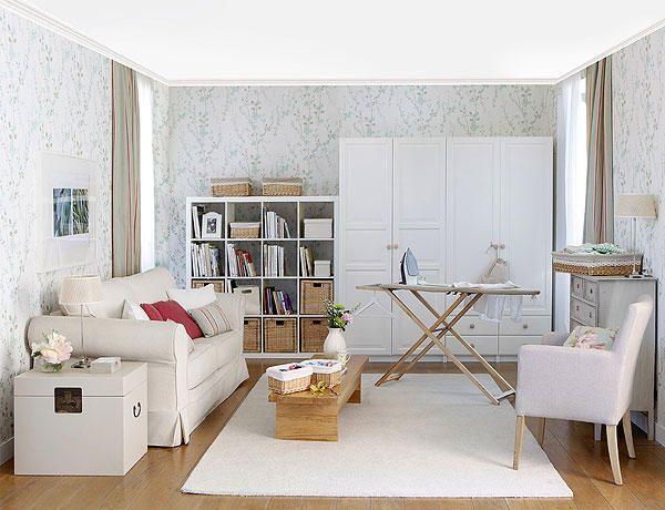 Soluciona la escasez de espacio en casa: Zona de plancha y cuarto de invitados