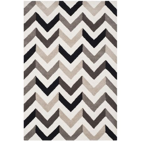 Found it at AllModern - Cambridge Ivory & Black Chevron Area Rug http://www.allmodern.com/deals-and-design-ideas/p/Safavieh-Rug-Blowout-Cambridge-Ivory-%26-Black-Chevron-Area-Rug~FV49025~E17705.html?refid=SBP