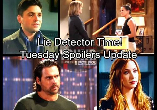 The Young and the Restless Spoilers: Tuesday, February 6 Update - Phyllis Demands Lie Detector Test – Noah's Drunken Accident   Celeb Dirty Laundry