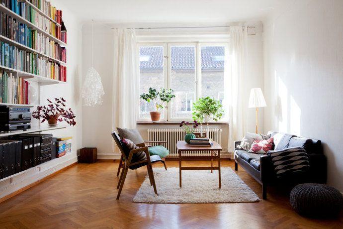 Bilder, Vardagsrum, Fönster, Soffa, Trägolv - Hemnet Inspiration