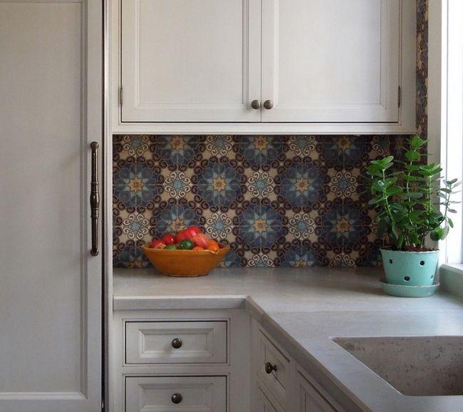 плитка в стиле марокко