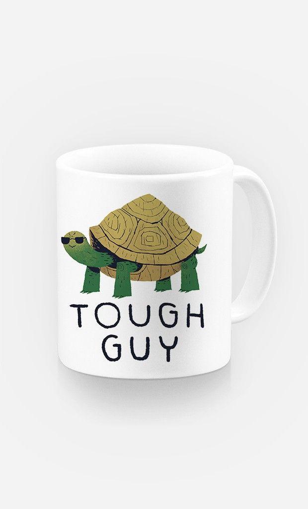 Mug Tough Guy par Louis Roskosch - Wooop.fr