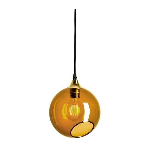 Ballroom Amber Pendant With Brass Edge Gold Socket Ceiling Lamp ($577) ❤ liked on Polyvore featuring home, lighting, ceiling lights, brown, chandeliers, bubble lights, sphere lights, gold chandelier, gold orb chandelier and gold chandelier light