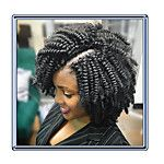 Crochet Bouncy Curl Twist Braids kinky curly Hair Extensions Kanekalon Hair Braids Bouncy Curl braiding 2017 - $7.35