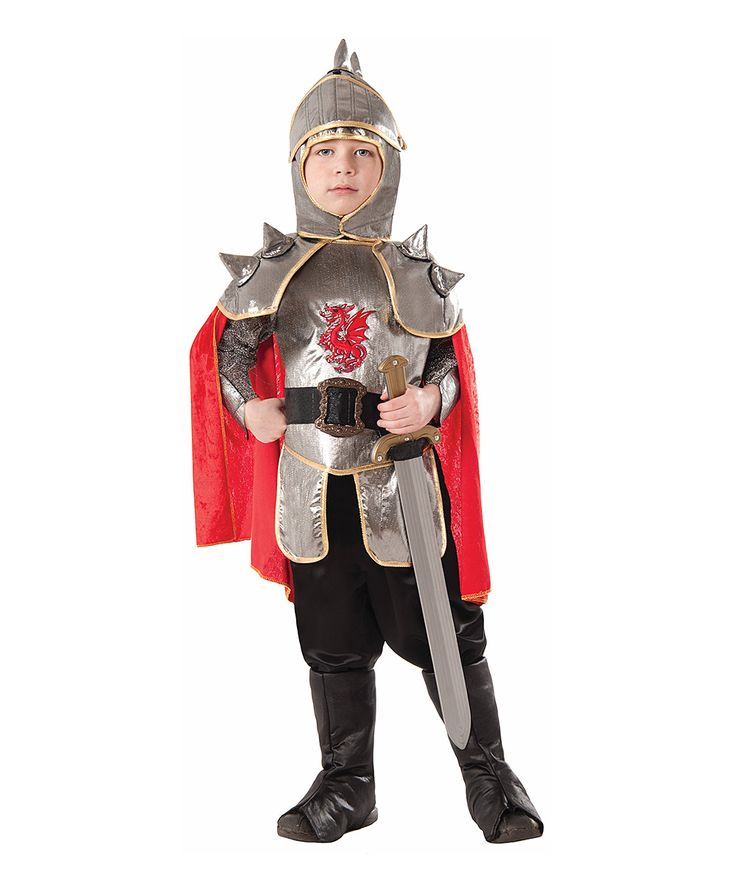 Silver Knight Dress-Up Outfit - Kids
