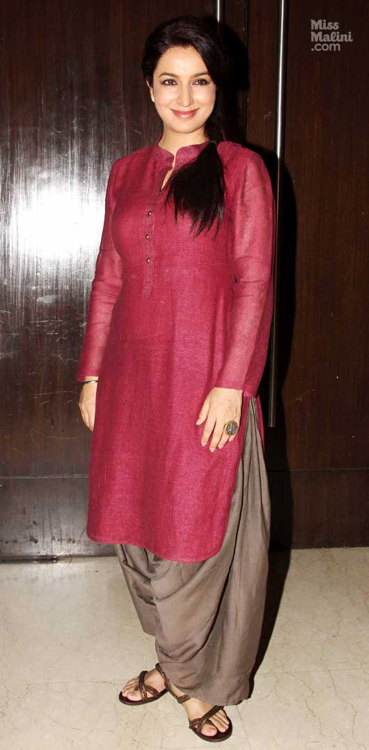 Tisca Chopra..colour combi is gr8
