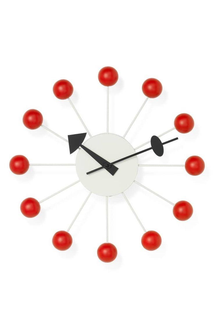 Vitra George Nelson Ball Clock Nelson Ball Clock Clock Vitra