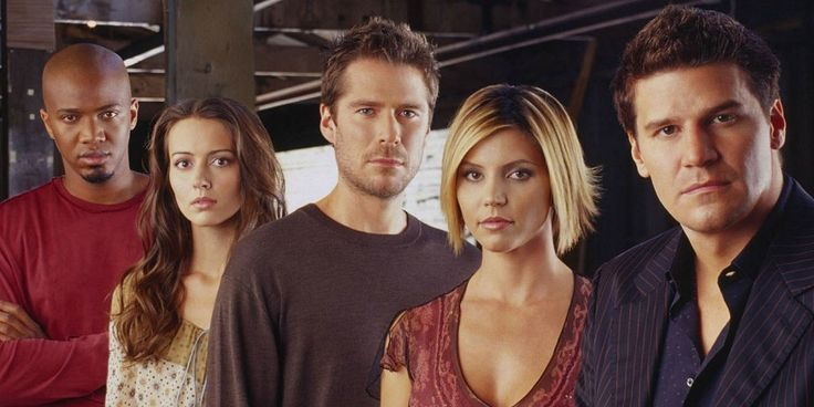 Angel TV series cast 12 TV Shows That Changed Their Premise Partway Through