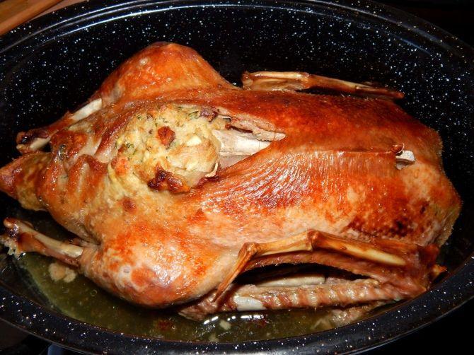 Töltött kacsa recept