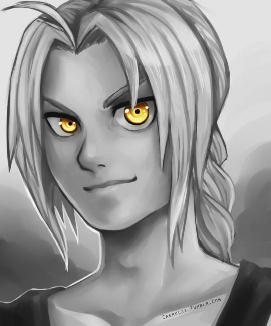 The Golden Eyes of a Lost People | by caerulai | Ed | Edward Elric | Fullmetal Alchemist Brotherhood | #FMAB | Anime
