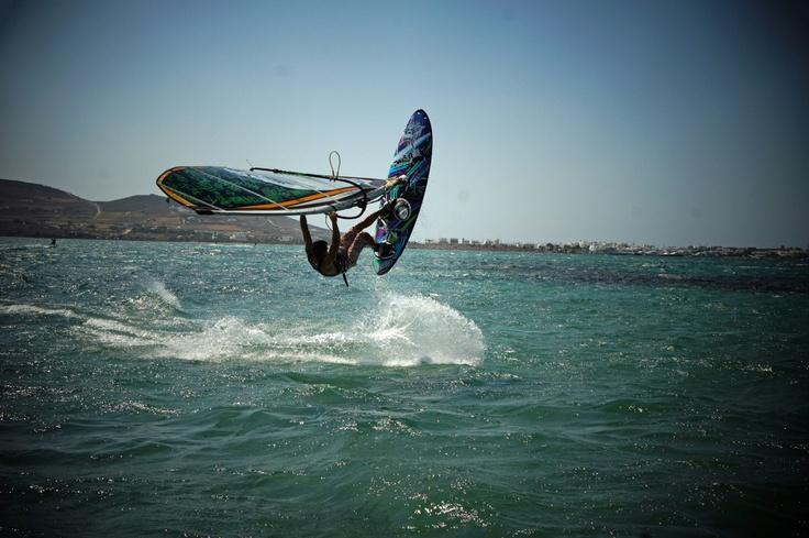 Paros Windsurf / Jeremy Pluss Punda, Paros